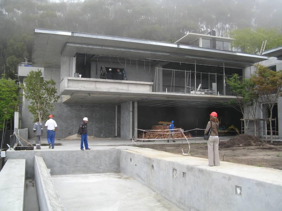 Jenny's Inspection of Construction:  Houses by Jenny Mills Architects