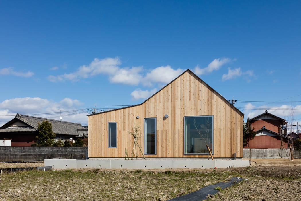 hm+architects 一級建築士事務所 Cửa sổ & cửa ra vào phong cách chiết trung Gỗ Wood effect