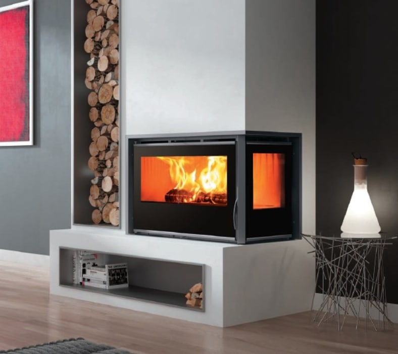 A85 DOUBLE GLAZED by Hyper Lighting and Fires