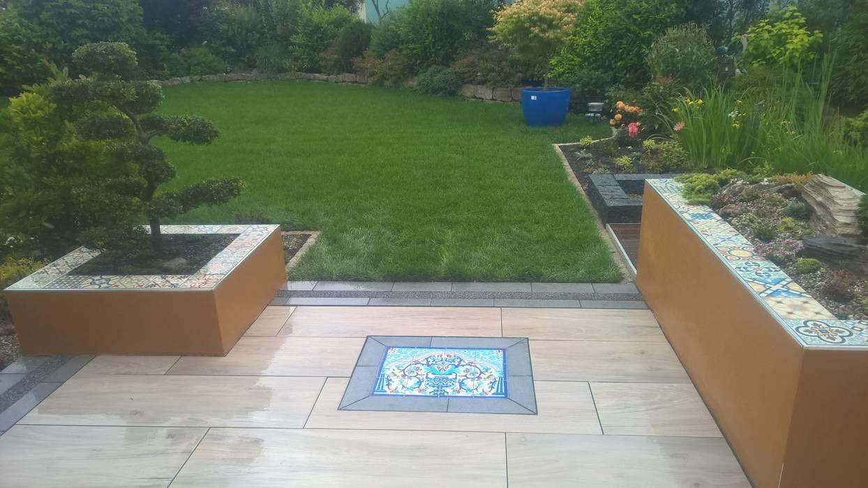 Garten fliesen holzoptik wohn design for Fliesen holzoptik garten