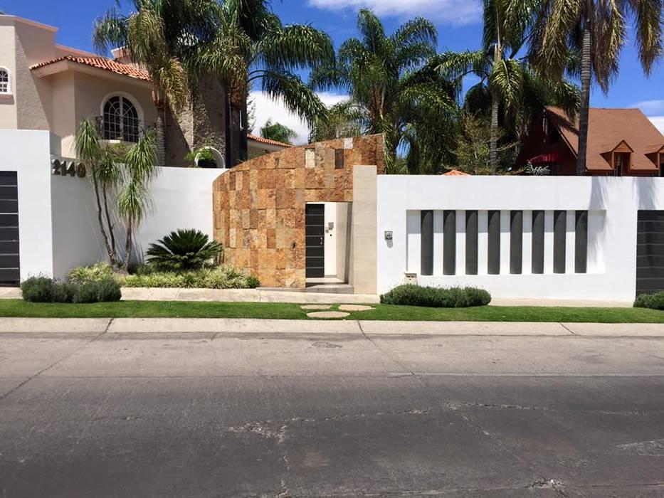 Casas de estilo moderno de Arki3d Moderno
