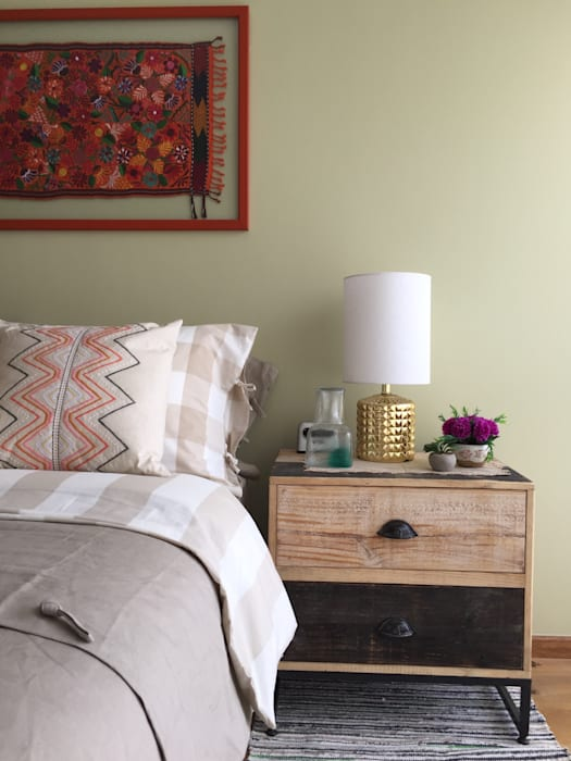 Choapan Decor By Erika Winters Design Erika Winters Design Eclectic Style Bedroom Homify
