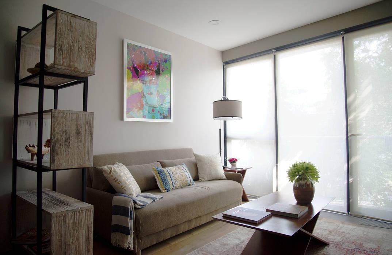 Choapan Decor by Erika Winters®Design Salon original par Erika Winters® Design Éclectique
