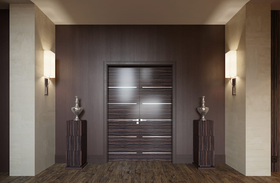 Eclectic style windows & doors by homify Eclectic