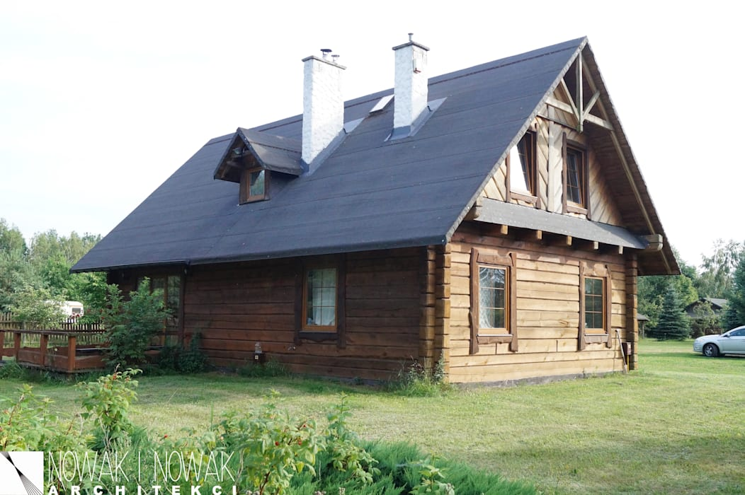Дома в . Автор – Nowak i Nowak Architekci