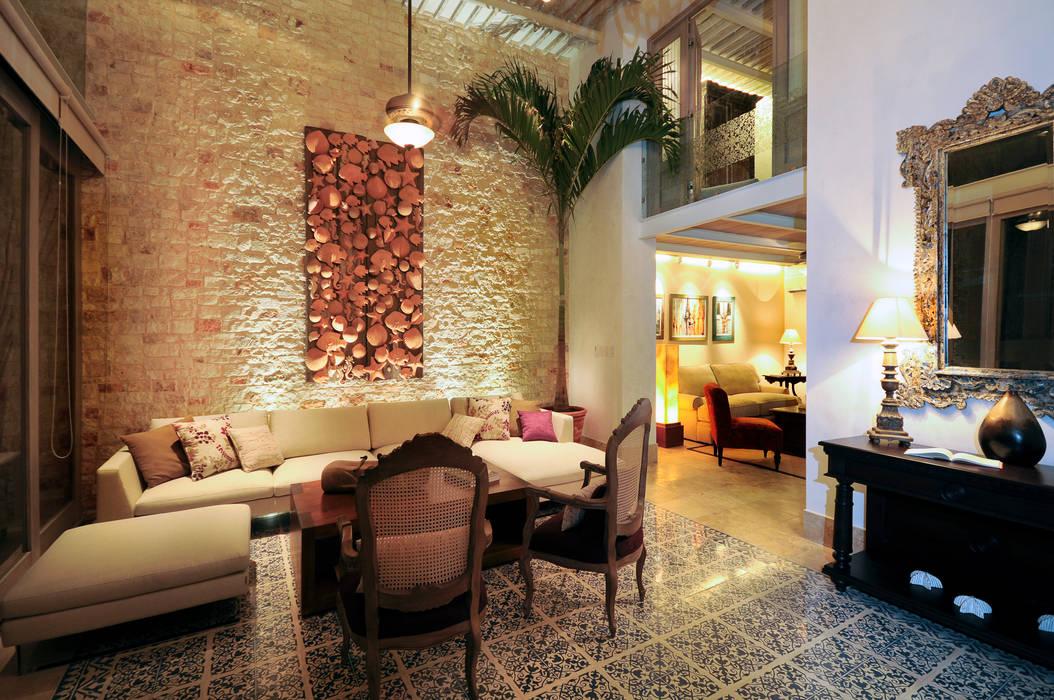 Living room by Ancona + Ancona Arquitectos, Modern