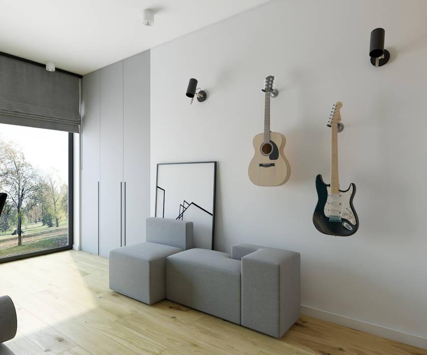 Modern style study/office by INSIDEarch Modern