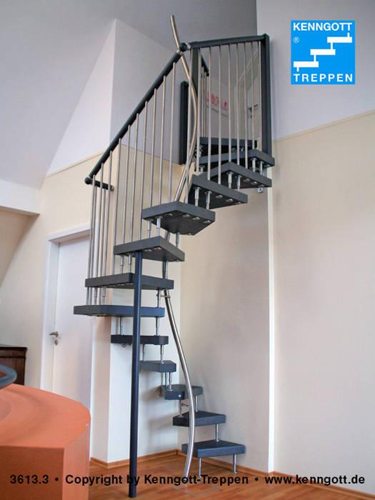 Couloir Entree Escaliers Modernes Par Kenngott Treppen