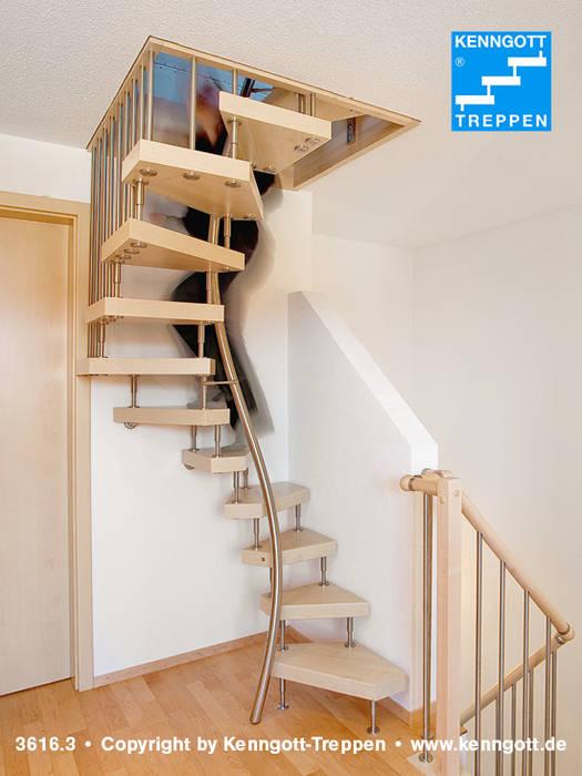Couloir Et Hall D Entree De Style Par Kenngott Treppen