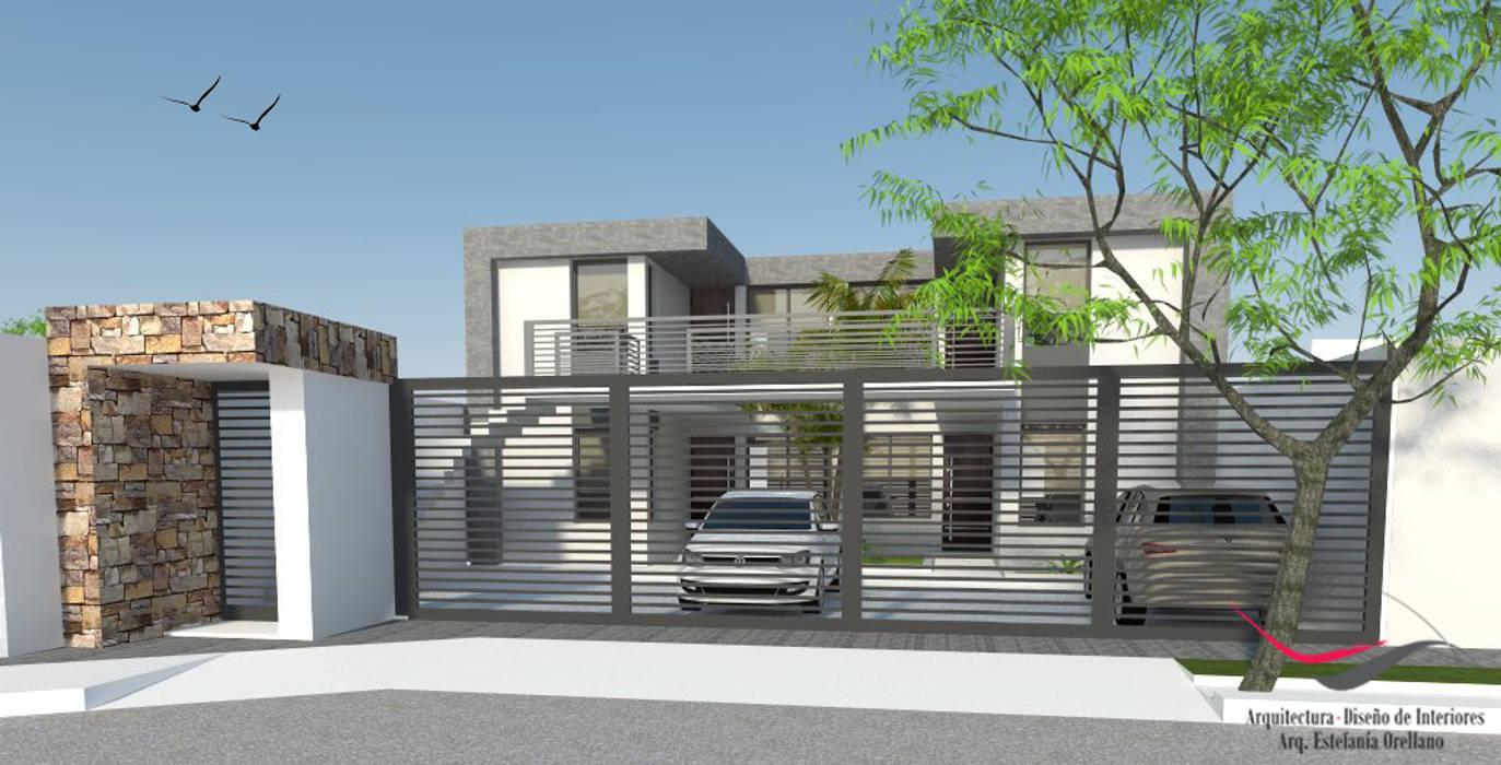 Departamentos - Complejo La Esquina Casas modernas: Ideas, imágenes y decoración de Arq-Diseño Interior Moderno Hormigón