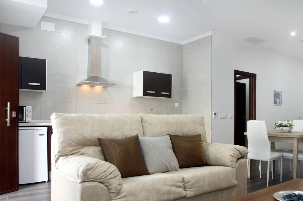 Mohedano Estudio de Arquitectura S.L.P. Living room