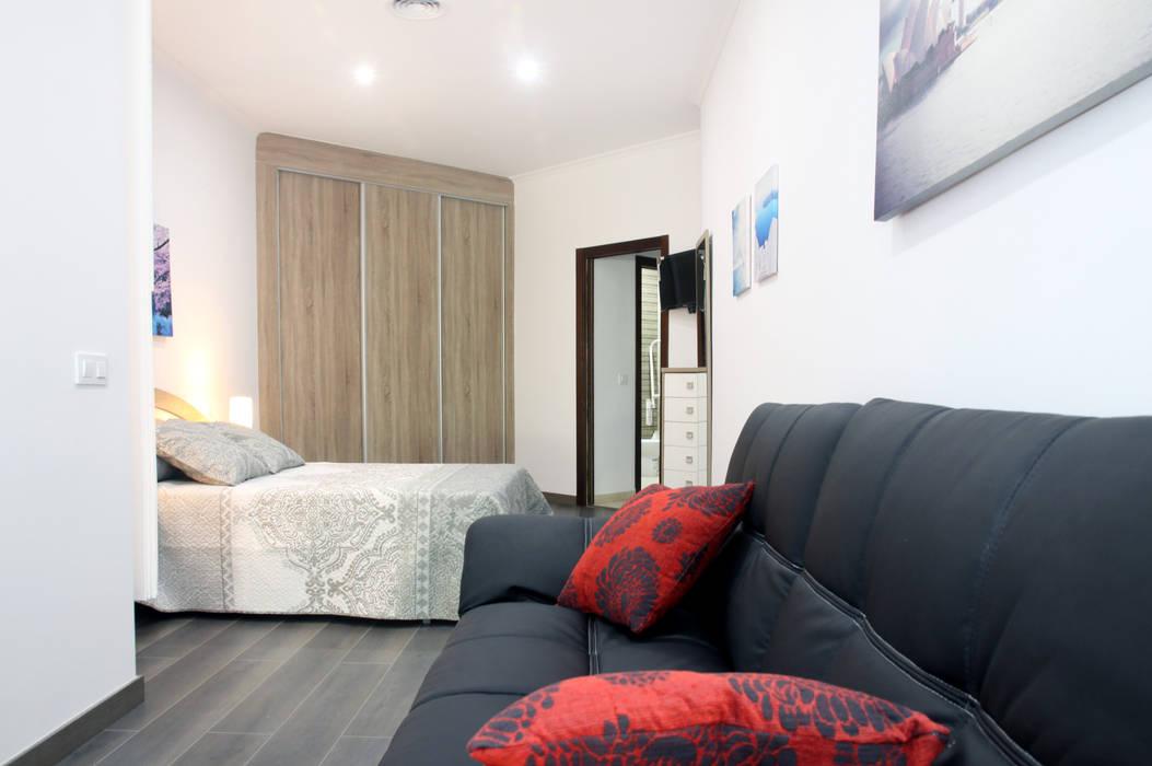 Mohedano Estudio de Arquitectura S.L.P. Modern style bedroom