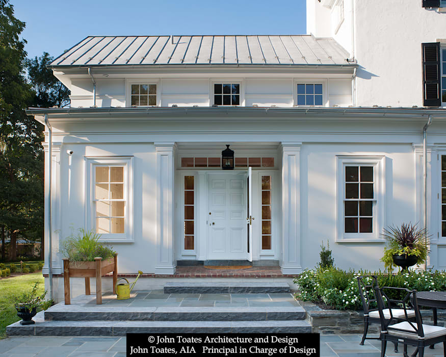 Exterior - Family Entry Classic style gym by John Toates Architecture and Design Classic