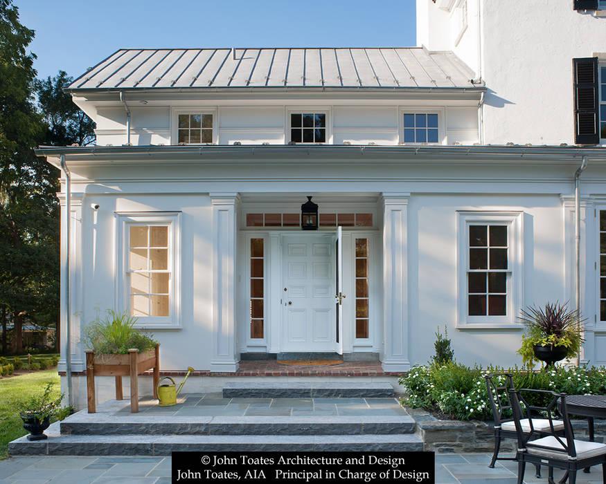 John Toates Architecture and Design Ruang Olahraga Klasik White