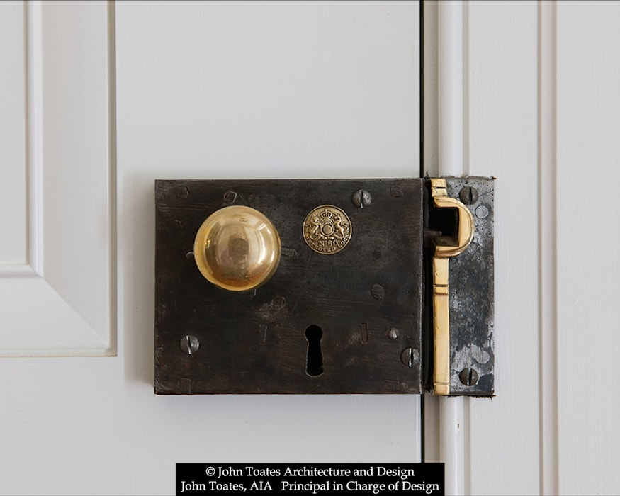 Door Hardware Classic windows & doors by John Toates Architecture and Design Classic