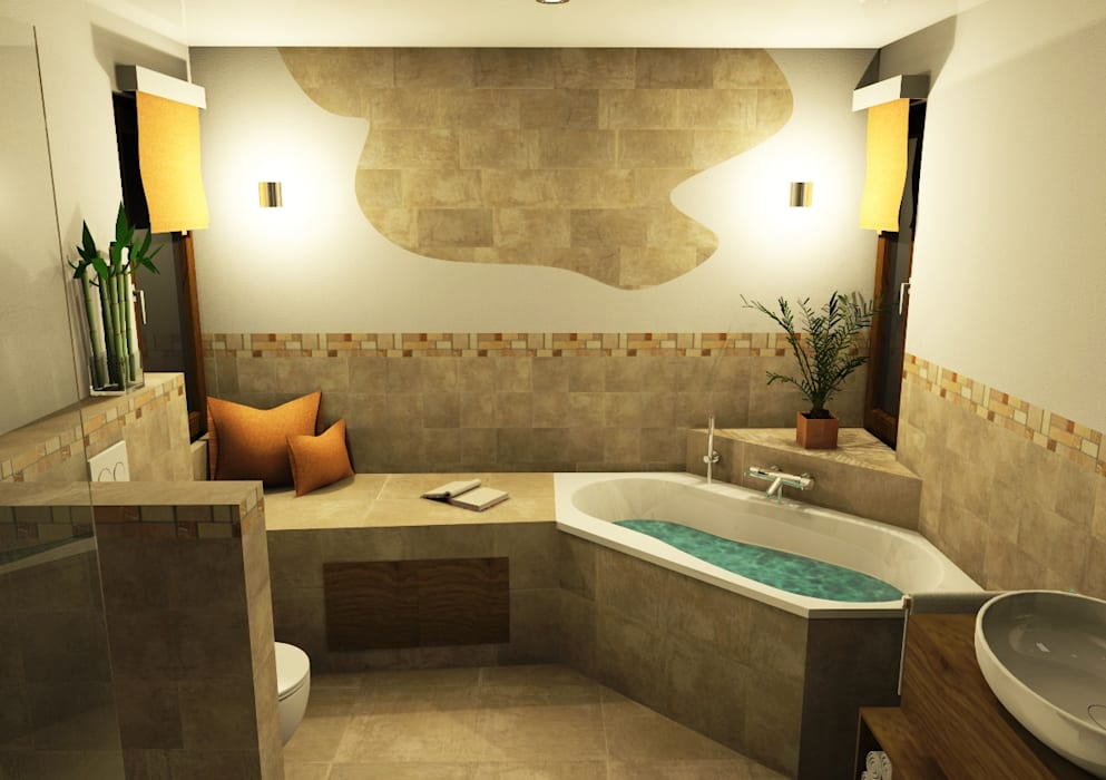 Mediterranean Style Bathroom By Bad Campioni Mediterranean