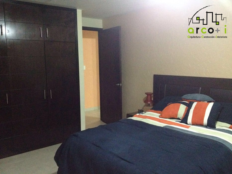 Departamento Dormitorios modernos de ARCO +I Moderno
