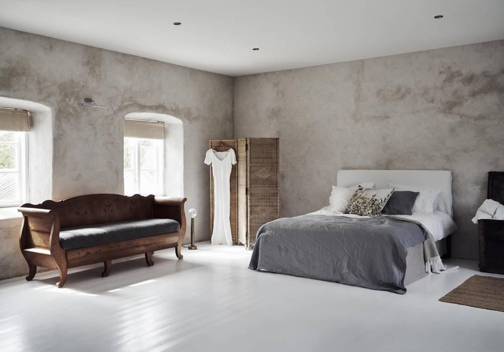 Camere Da Letto Nordiche : Il fascino dello stile nordico in una villa del 700: camera da