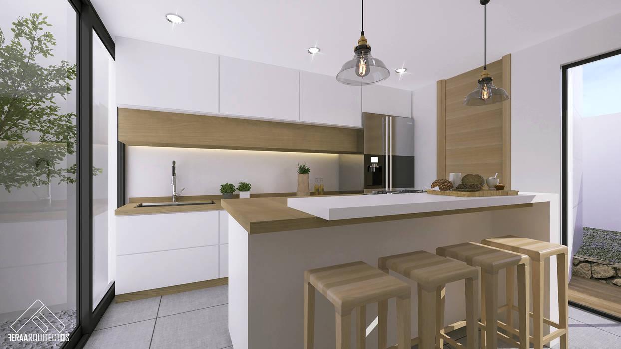 Minimalistische keukens van FERAARQUITECTOS Minimalistisch