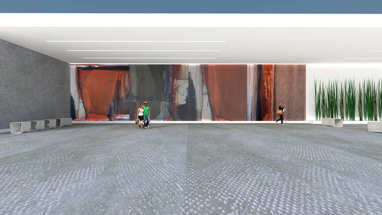 Arte Exterior| Mural: Centros de exposições  por  IDesign.art by Paula Gouveia,