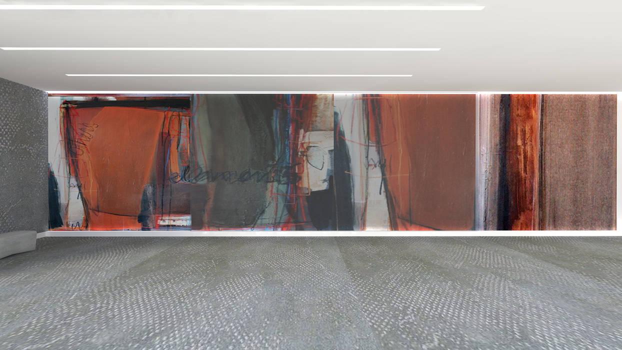 Arte Exterior| Mural Centros de exposições modernos por IDesign.art by Paula Gouveia Moderno
