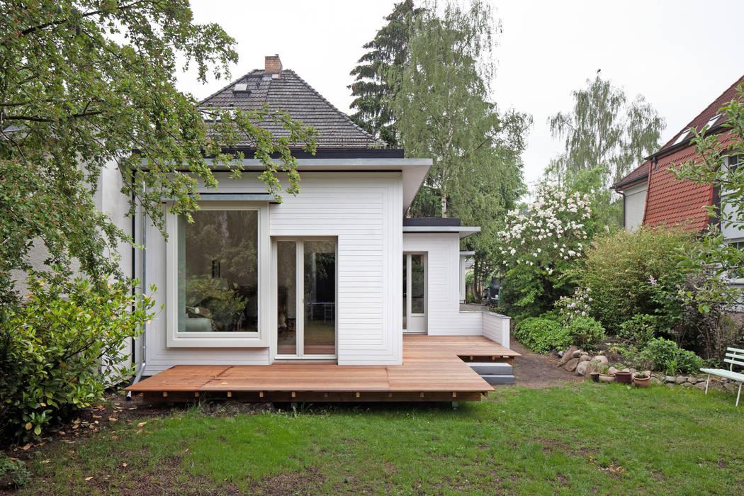 kleinOud Modern Houses by brandt+simon architekten Modern Wood Wood effect