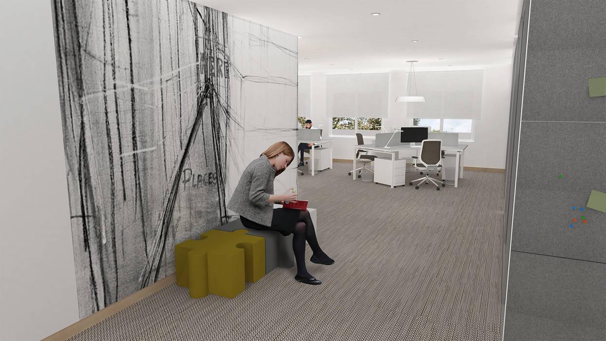 Empresa| Escritório: Escritórios  por  IDesign.art by Paula Gouveia,