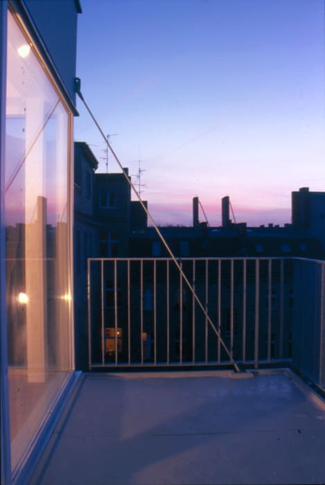 balcony brandt+simon architekten Modern balcony, veranda & terrace