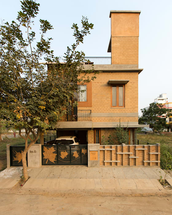 No exterior Casas asiáticas por A3 Ateliê Academia de Arquitectura Asiático
