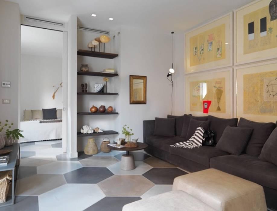 Soggiorno casa al mare colori naturali soggiorno in stile ...