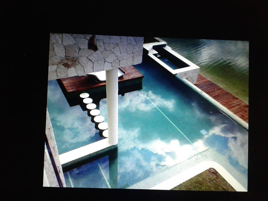 RESIDENCIA RESIDENCIAL LAGOS DEL SOL CANCUN: Albercas de estilo clásico por sanmartiarquitectos