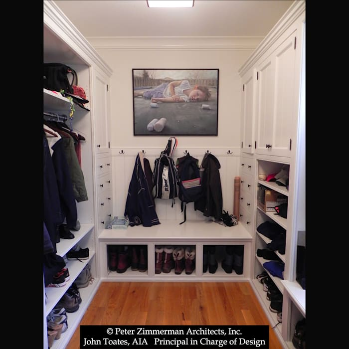 Dressing Room توسط John Toates Architecture and Design کلاسیک