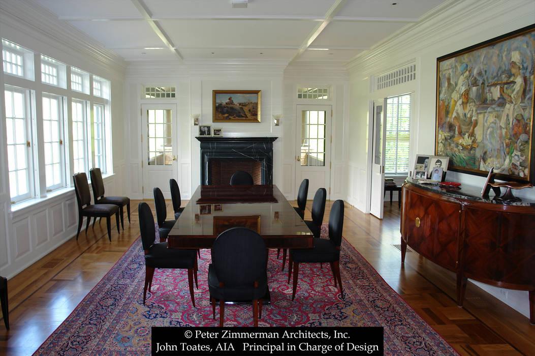 Ruang Makan Klasik Oleh John Toates Architecture and Design Klasik