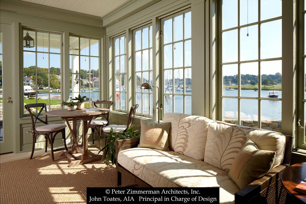 John Toates Architecture and Design Balkon, Beranda & Teras Klasik