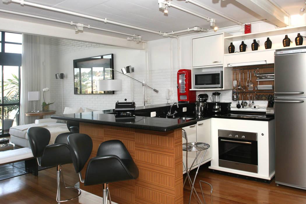 Cozinha Americana Cozinhas industriais por Célia Orlandi por Ato em Arte Industrial