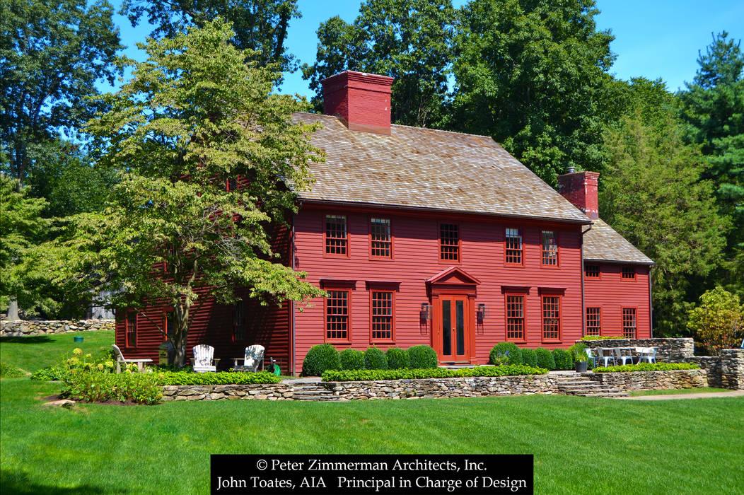 John Toates Architecture and Design Rumah Klasik Red