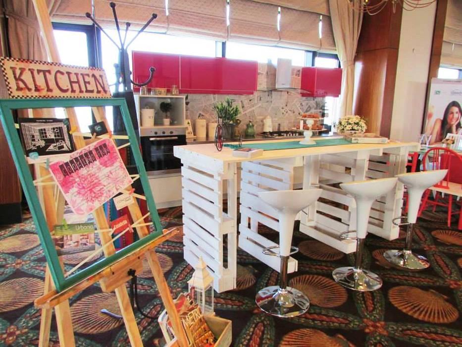 SECTOR BARRA Cocinas de estilo ecléctico de G7 Grupo Creativo Ecléctico