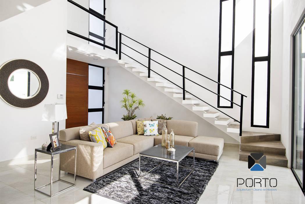 by PORTO Arquitectura + Diseño de Interiores Modern