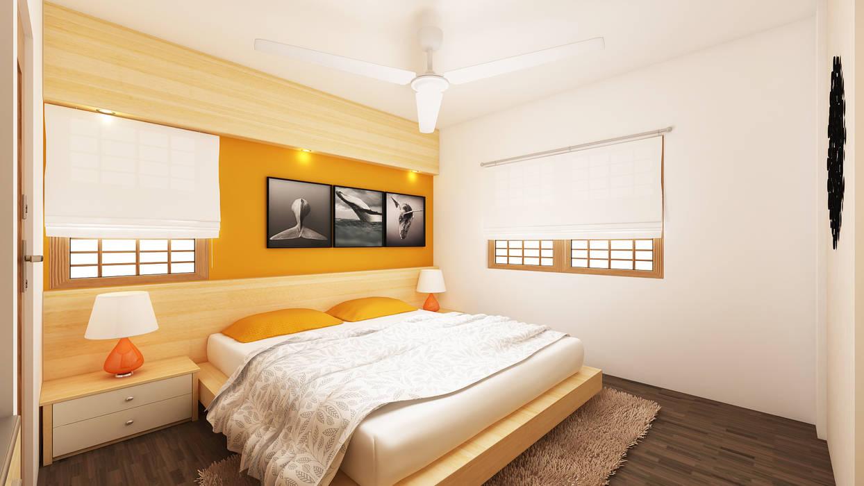 Master Bedroom by Ghar360