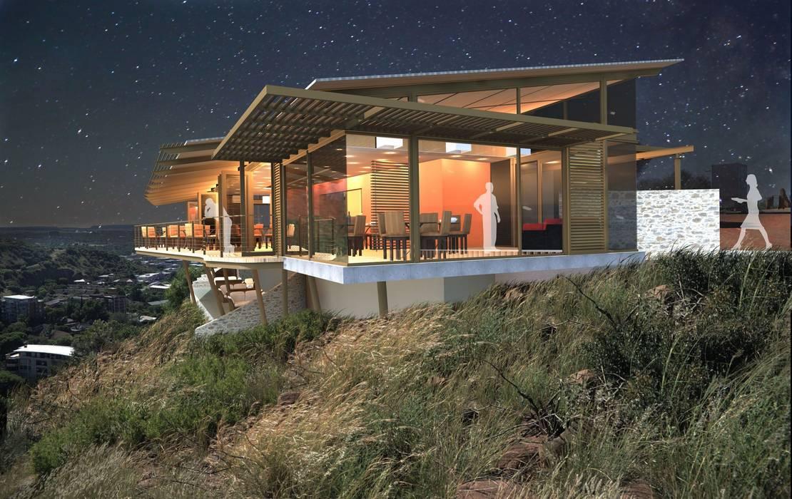 The Edge Restaurant (Naval Hill) by Reinier Brönn Architects & Associates Industrial