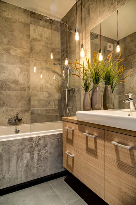Ванные комнаты в . Автор – Perfect Space, Минимализм
