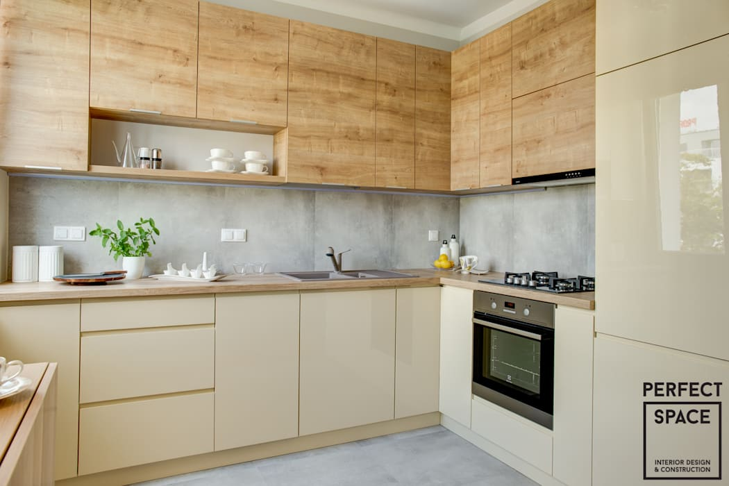 Kitchen by Perfect Space, Modern