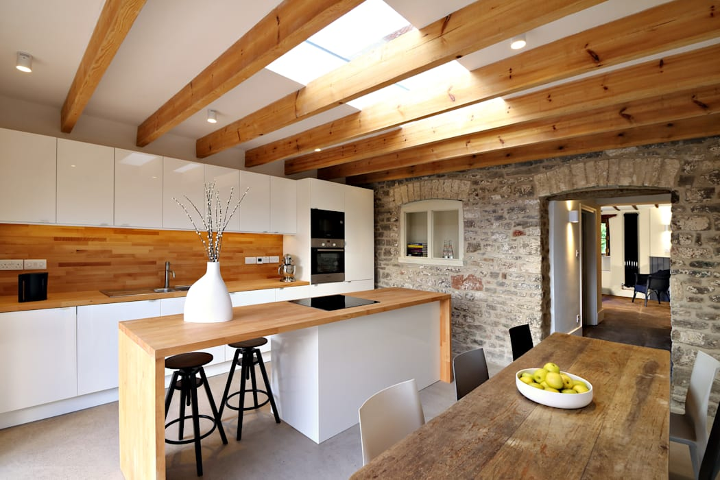 Miner's Cottage I Kitchen design storey Eclectic style kitchen