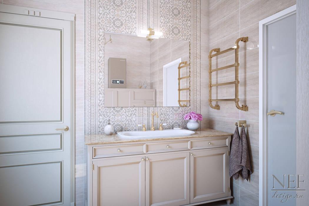 Salle de bain classique par Юлия Паршихина Classique