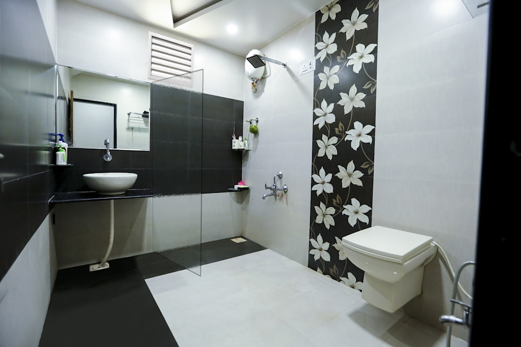 Attached Bathroom:  Bathroom by ZEAL Arch Designs