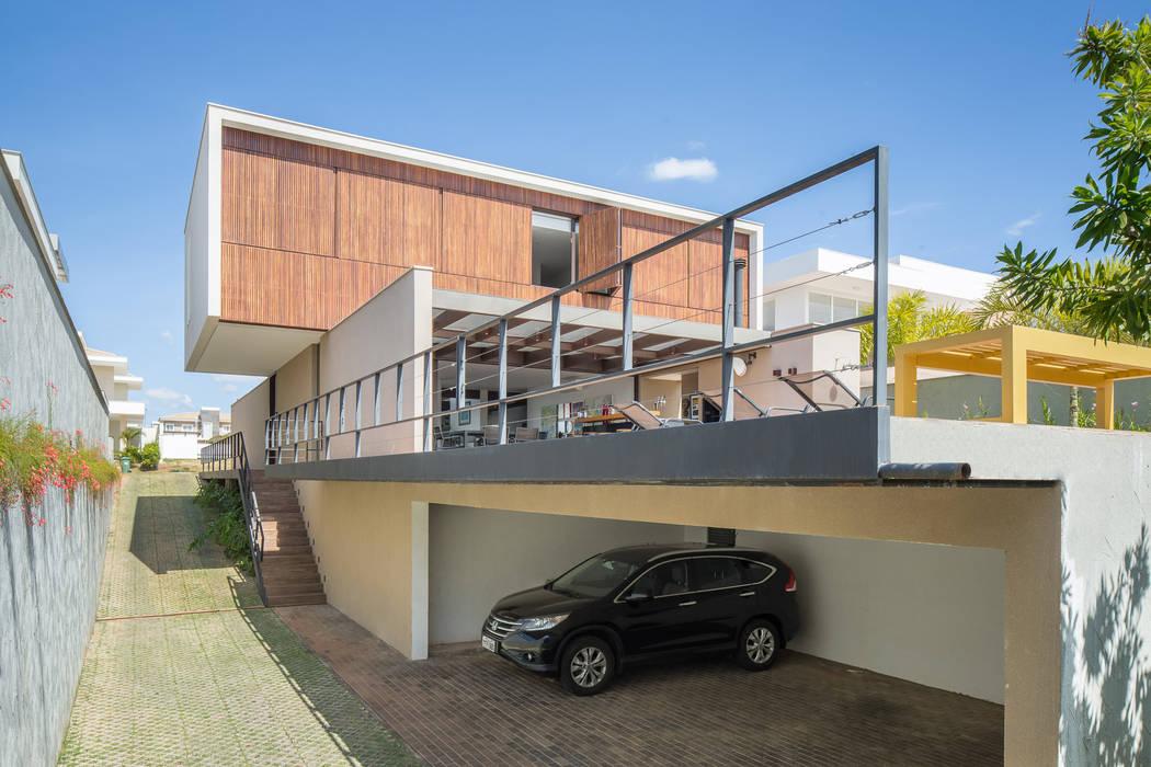 Modern Garage and Shed by Joana França Modern