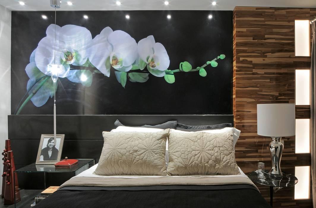 Dormitorios de estilo moderno de Juliana Lahóz Arquitetura Moderno Madera Acabado en madera