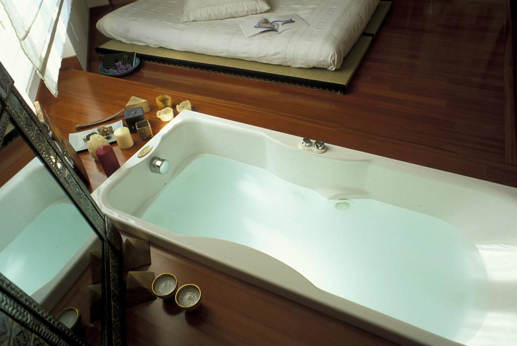 VASCA AD INCASSO ROBERTA DANISI architetto Camera da letto moderna
