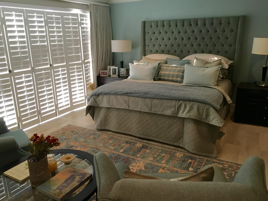 De Kelders Residence Hermanus Western Cape:  Bedroom by CS DESIGN, Modern