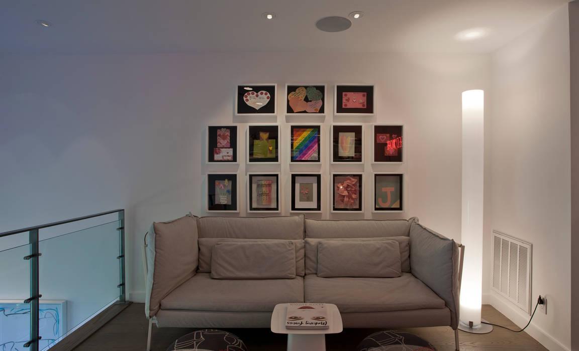 Phòng học/văn phòng phong cách hiện đại bởi Hinson Design Group Hiện đại